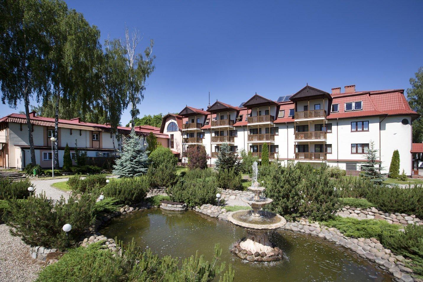 przytulny Hotel Anders w lesie na Mazurach