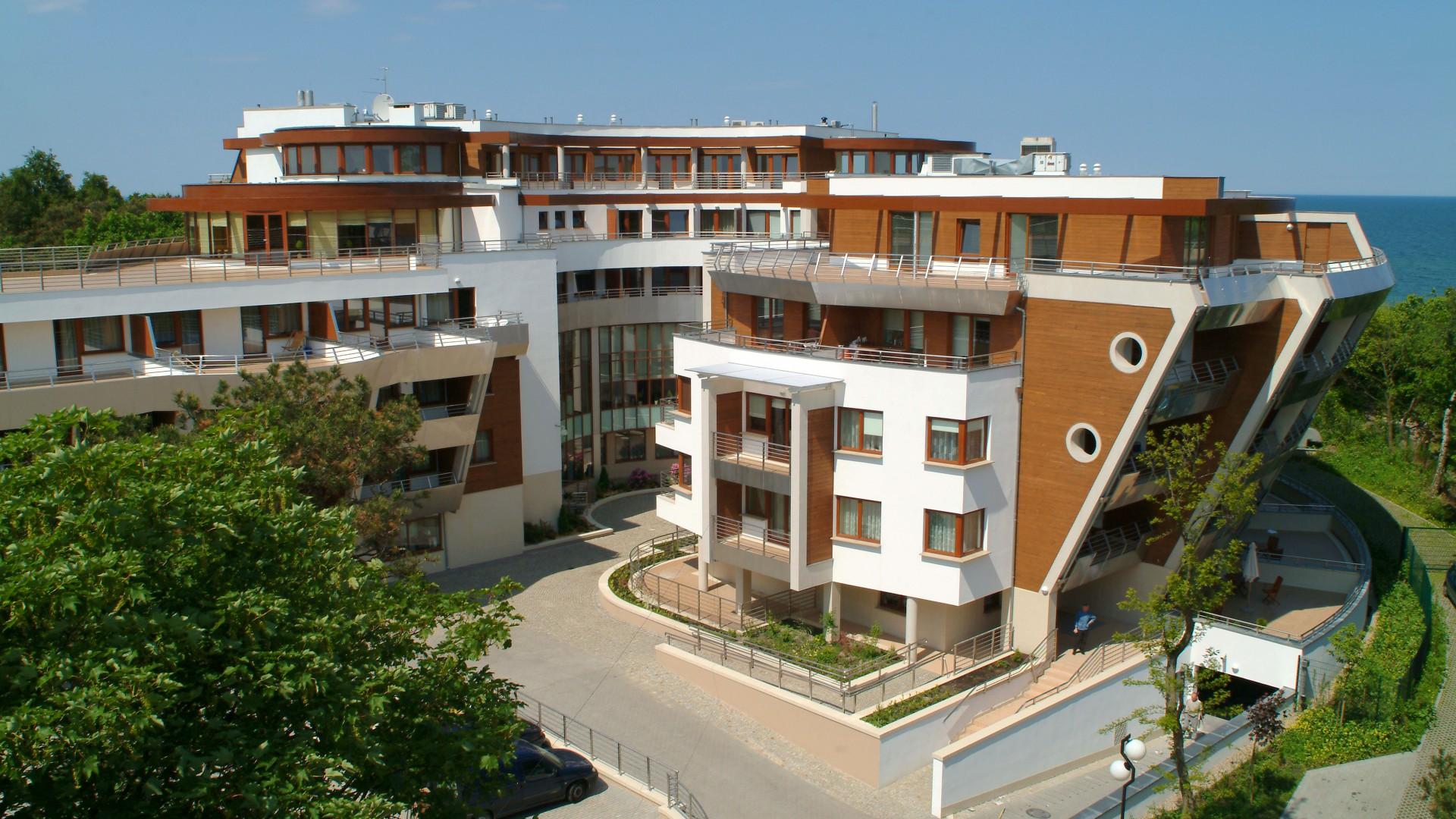 Hotel Dom Zdrojowy Jastarnia nad morzem w Jastarni