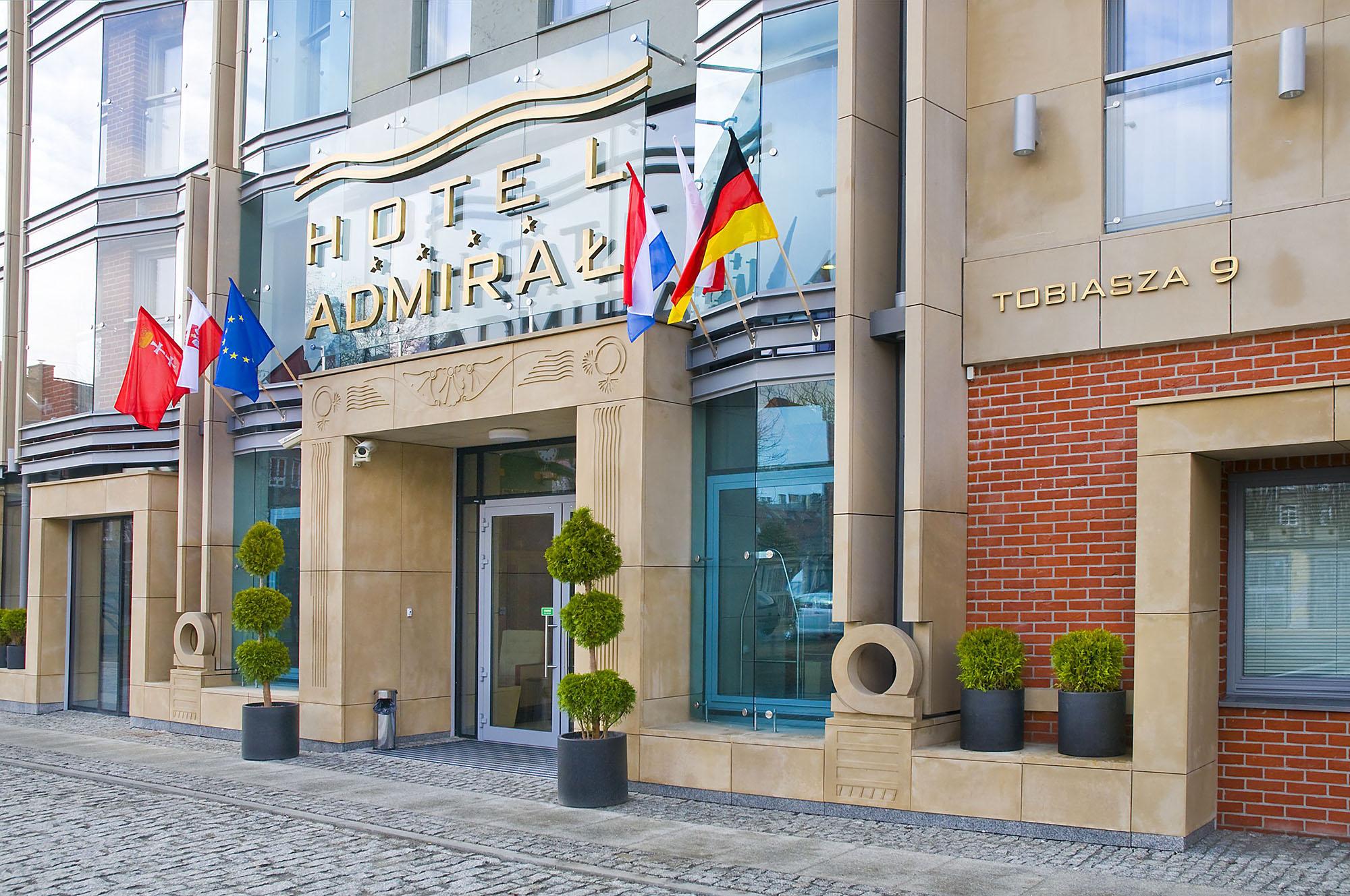 Hotel Admirał w centrum Gdańska