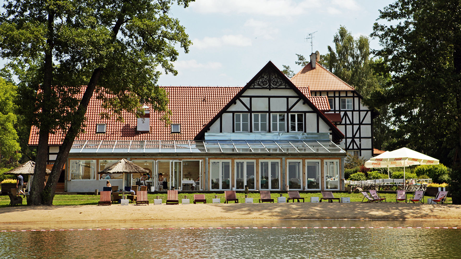 Jabłoń Lake Resort hotel spa nad jeziorem