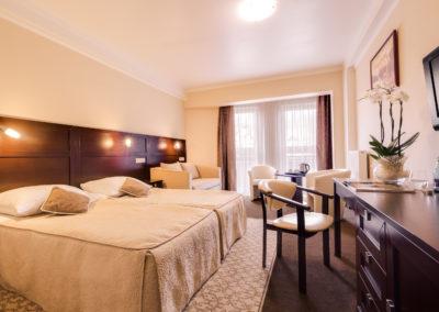 pokoj dwuosobowy rodzinny 3 hotel aurora miedzyzdroje